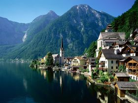 from Schafberg mountain to the UNESCO world heritage Hallstatt